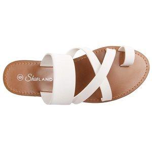 Herstyle Donnoddi Flip Flop Gladiator Sandals